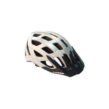 Capacete Ciclismo Roller Branco/Prata Tamanho G - Lazer