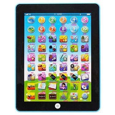 Imagem de Tablet Interativo Educativo Bilingue Azul