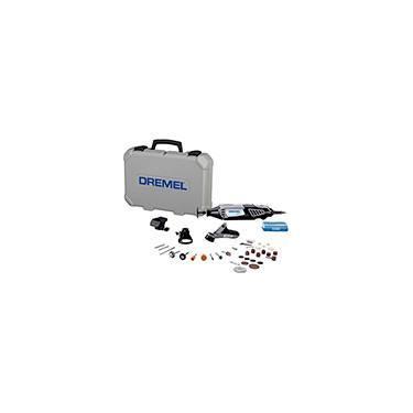Kit Microrretífica Dremel 4000 c/ 3 Acoplamentos 36 Acessórios