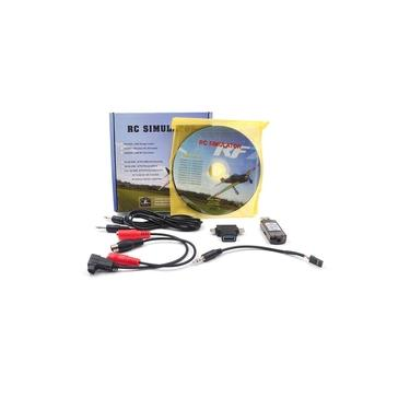 STARTRC 8-em-1 RC Simulador de Vôo Sem Fio Simulador para Flysky i6x AT10s Radiolink AT10 RC Brinquedos Para As Crianças