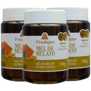 Mel Melato de Bracatinga 500g Kit com 3