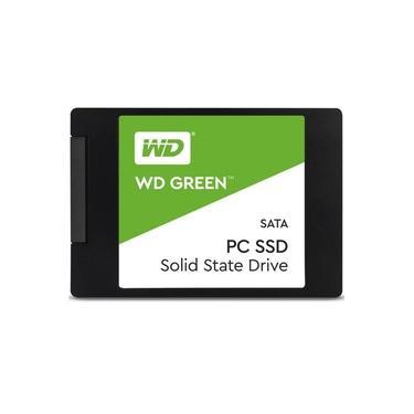 SSD WD Green 480GB, SATA, Leitura 545MB/s, Gravação 430MB/s WDS480G2G0A - Western Digital
