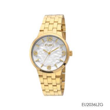 9d3a084dff6 Lux Golden Comprar · RELÓGIO EURO FEMININO EU2036LZG - Dourado