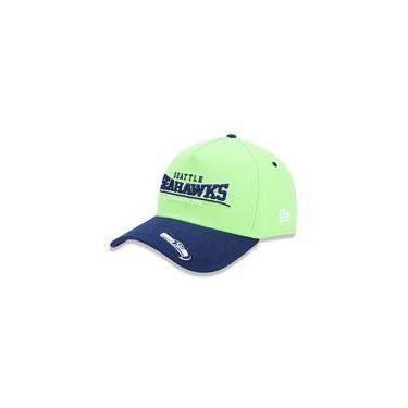 Bone 3930 Seattle Seahawks Nfl Aba Curva Verde New Era