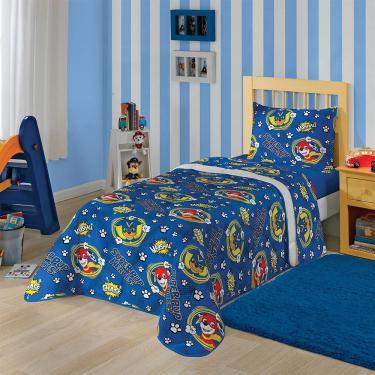 f9ee50329e Edredom Infantil 150x220cm Patrulha Canina Lepper - Azul