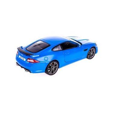 Imagem de Miniatura Jaguar XKR-S Azul Bburago 1/24