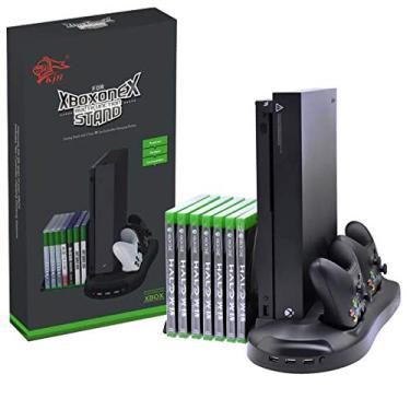 Multifuncional Suporte Cooler Carregador HuB Usb Stand Para Xbox One X KJH-XBOXONEX-01