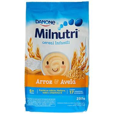 Cereal Infantil Milnutri Arroz E Aveia Danone Nutricia 230g