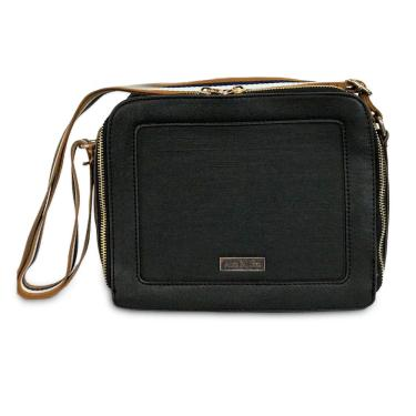 Bolsa Transversal Modern Alice Palucci - Preta Al13903pt