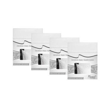 Imagem de Fronha com Ponto Palito Plumasul 233 Fios - 4 Unidades