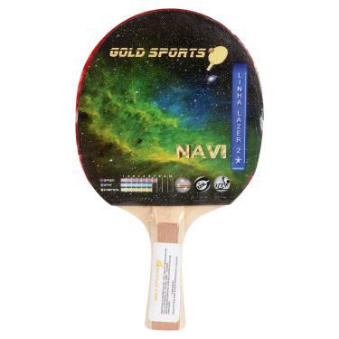 Raquete Tenis De Mesa Gold Sports Navi - Unissex