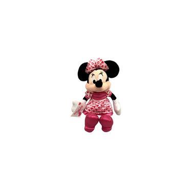 Imagem de Boneca De Pelúcia Hipoalergênica Minnie Mouse Rosa Amor - Namorada I Love Mickey Mouse - Disney - Long Jump