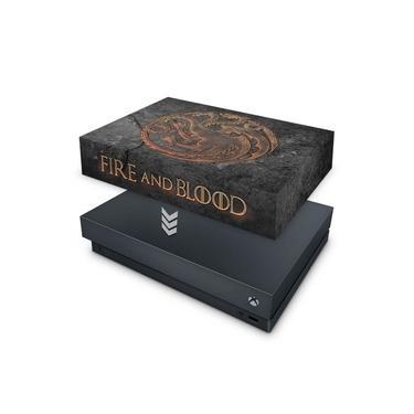 Capa Anti Poeira para Xbox One X - Game Of Thrones Targaryen