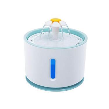 2.4L Fonte de Água de Gato Automático para Animais de Estimação com LED USB Elétrico Cão Gatos Animais de Estimação Mudo Bebedor Alimentador Tigela Pet Fonte de Água Distribuidora