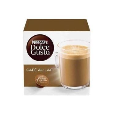 Capsula de Cafe Au Lait Dolce Gusto 100g CX 10 UN Nescafe