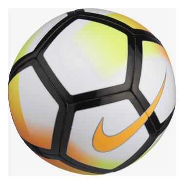 Bola de Futebol de Campo Pitch Nike SC3136 - Branco Laranja 29883003f827b