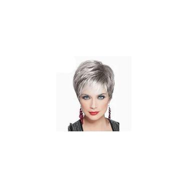 Imagem de Real Remy Cabelo Humano Topper Peruca Clipe peruca Lace Top peruca para as Mulheres