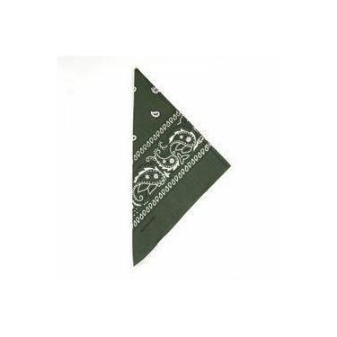 Lenço Tipo Bandana Verde Militar