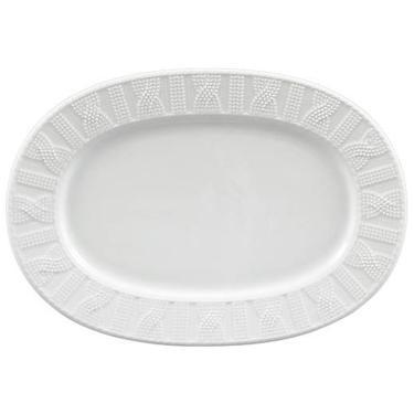 Imagem de Travessa em Porcelana Branca Oval Rasa 28cm