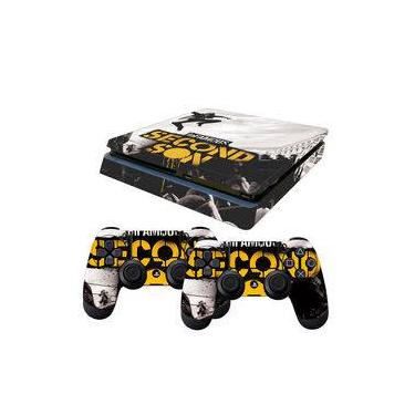 Skin PS4 Slim Infamous Second Son