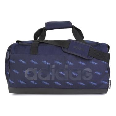 Mala Adidas Lin Duffle FL3656, Cor: Azul Marinho/Azul, Tamanho: U
