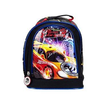 Lancheira Térmica Infantil Peter Joe Racing YIN`S