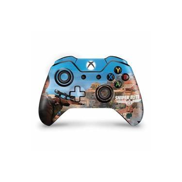 Skin Adesivo para Xbox One Fat Controle - Sniper Elite 4