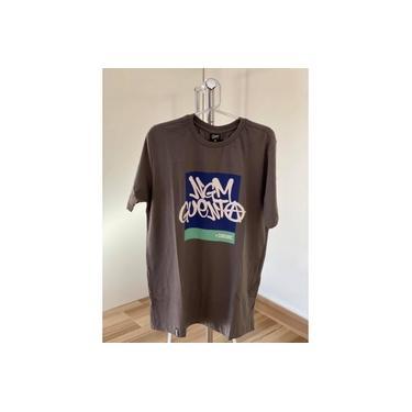 Camiseta Chronic Ngm Guenta Cinza Chumbo