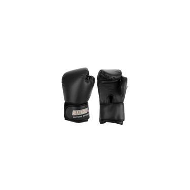 1 Par Luvas De Boxe Luvas De Boxe Luvas De Boxe Mma Muay Thai Treinamento Sparring Preto