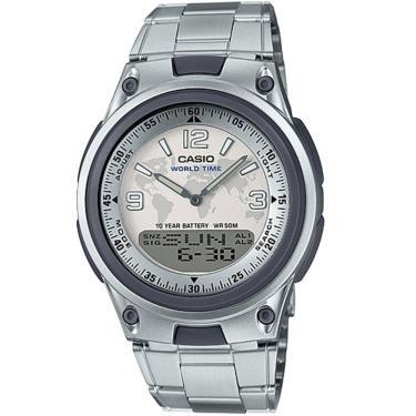 9348a8938ac Relógio Masculino Casio Digital AW-80D-7A2VDF - Prata