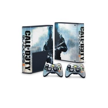 Skin Adesivo para Xbox 360 Super Slim - Call Of Duty Black Ops 2
