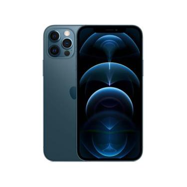 Imagem de Iphone 12 Pro Apple 256Gb Azul-Pacífico 6,1  - Câm. Tripla 12Mp Ios +
