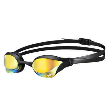 Óculos de Natação Cobra Core Mirror Arena - preto/lente amarelo