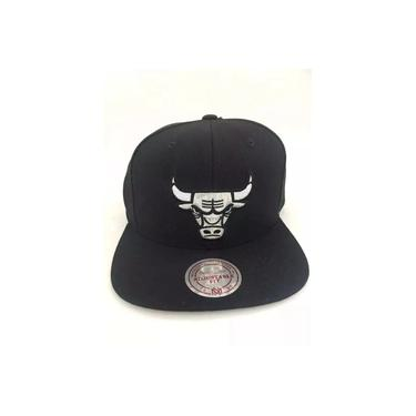 Boné Chicago Bulls - Philadelphia Preto / Prata