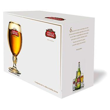 Stella Artois Jogo Com 6 Taças Para Cerveja Ambev Transparente 250Ml