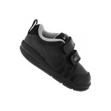 488f086e78b Tênis para Bebê Nike Pico LT - Infantil - PRETO CINZA Nike