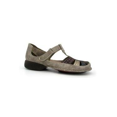Sapato Feminino Jgean DA0065 Couro