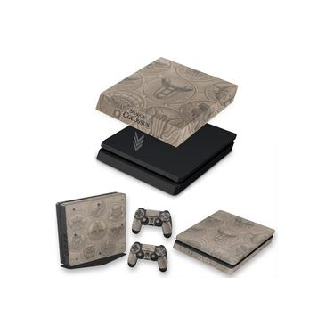 Capa Anti Poeira e Skin para PS4 Slim - Shadow Of The Colossus