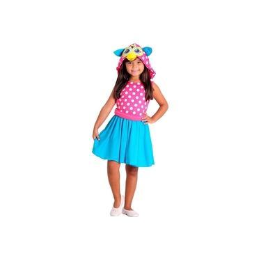 Imagem de Fantasia Furby Bolinhas - Sulamericana tamanho P 3 a 4 anos