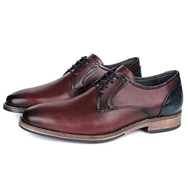 Sapato Masculino Vulcano em Couro 4302 Café Savelli (42)