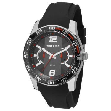 34e986ea706 Relógio Masculino Technos Racer 6P25BH 8P Preto