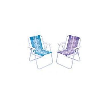 Cadeira Infantil Praia Aço Colors Mor tfb