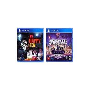 We Happy Few + Agents of Mayhem - PS4