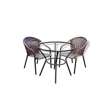 Conjunto 2 Cadeiras + Mesa Biquíni - Edicula, Varanda, Churrasqueira, Mesa, Sala De Jogos
