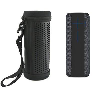 Capa de couro PU Zaracle para viagem com capa protetora bolsa de manga para alto-falante Bluetooth UE Megaboom