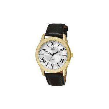 40e14509f49 Relógio Dumont Dourado Masculino Berlim DU2115BT 3K