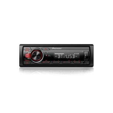 Som Automotivo MVHS-218BT Pioneer Bluetooth,USB,Rádio AM,Rádio FM,Entrada Auxiliar,Saída RCA
