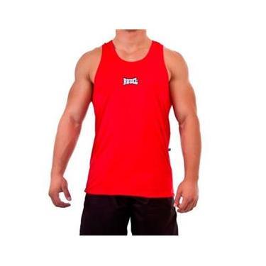 Camiseta Regata Dry Rudel - Vermelho