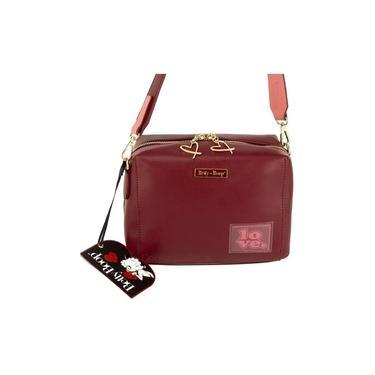 Bolsa Betty Boop - Bp8902 - Vermelha