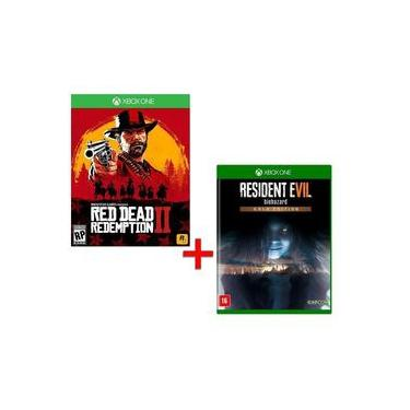 Game - Red Dead Redemption 2 + Resident Evil 7: Biohazard (Gold Edition) - Xbox One